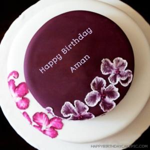 Aman Happy Birthday Cakes Pics Gallery Birthday cake with name edit online. aman happy birthday cakes pics gallery